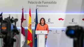 Patricia Franco, consejera de Economía, Empresas y Empleo del Gobierno de Castilla-La Mancha