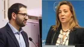 Sergio Gutiérrez y Lola Merino