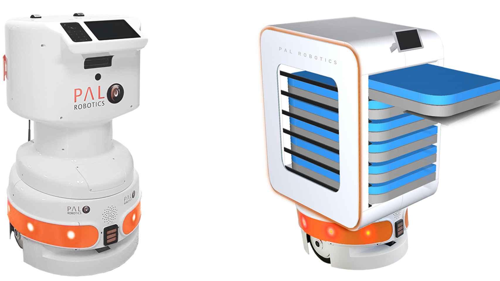 Robots con sensores de precisión para combatir la Covid-19 en hospitales