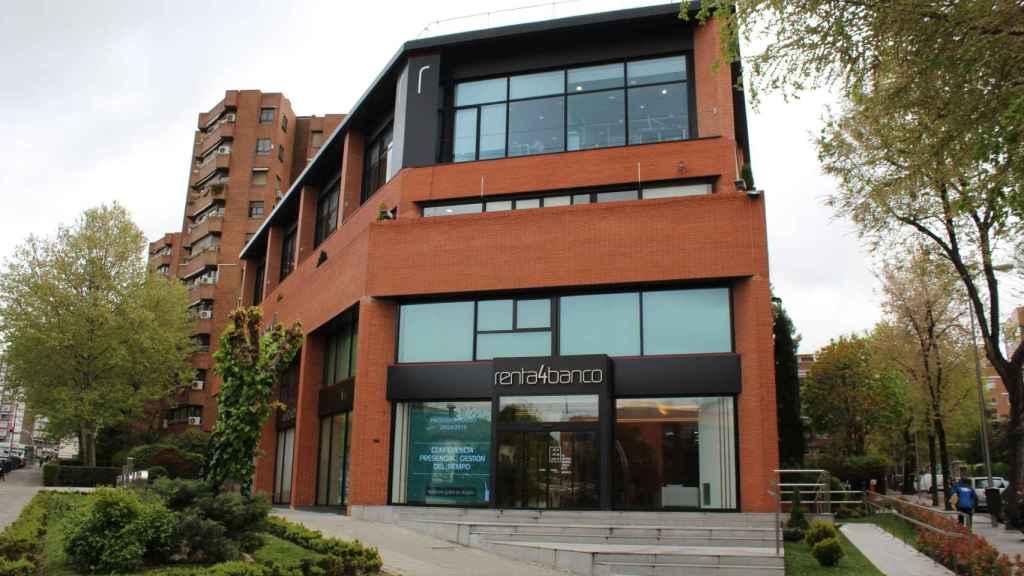 Sede de Renta 4 Banco en Madrid.