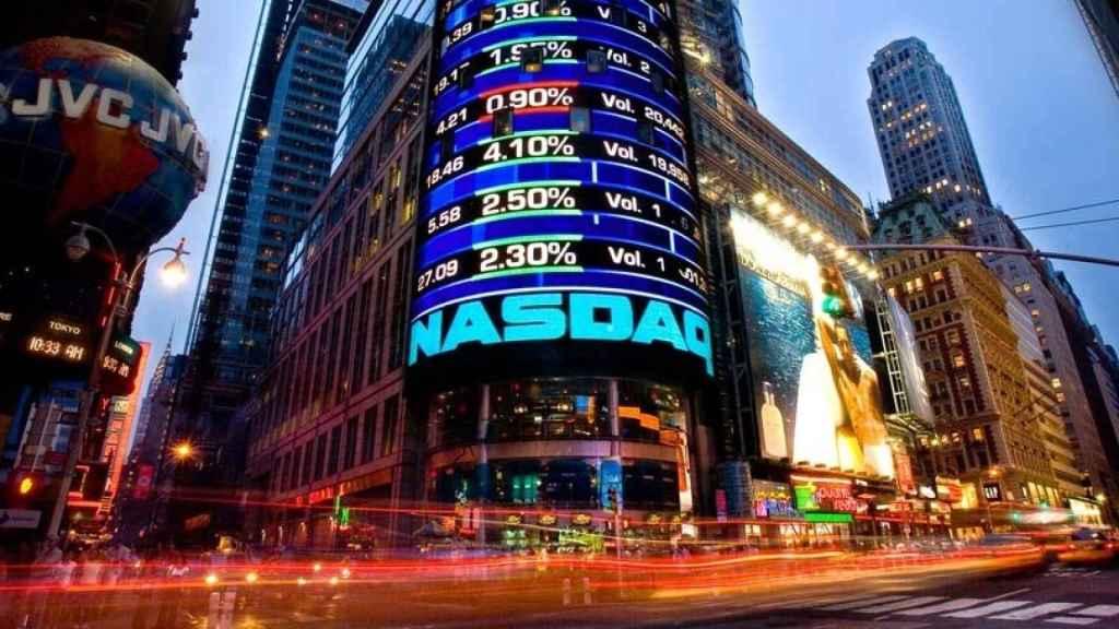 Imagen de archivo del Nasdaq en Nueva York.