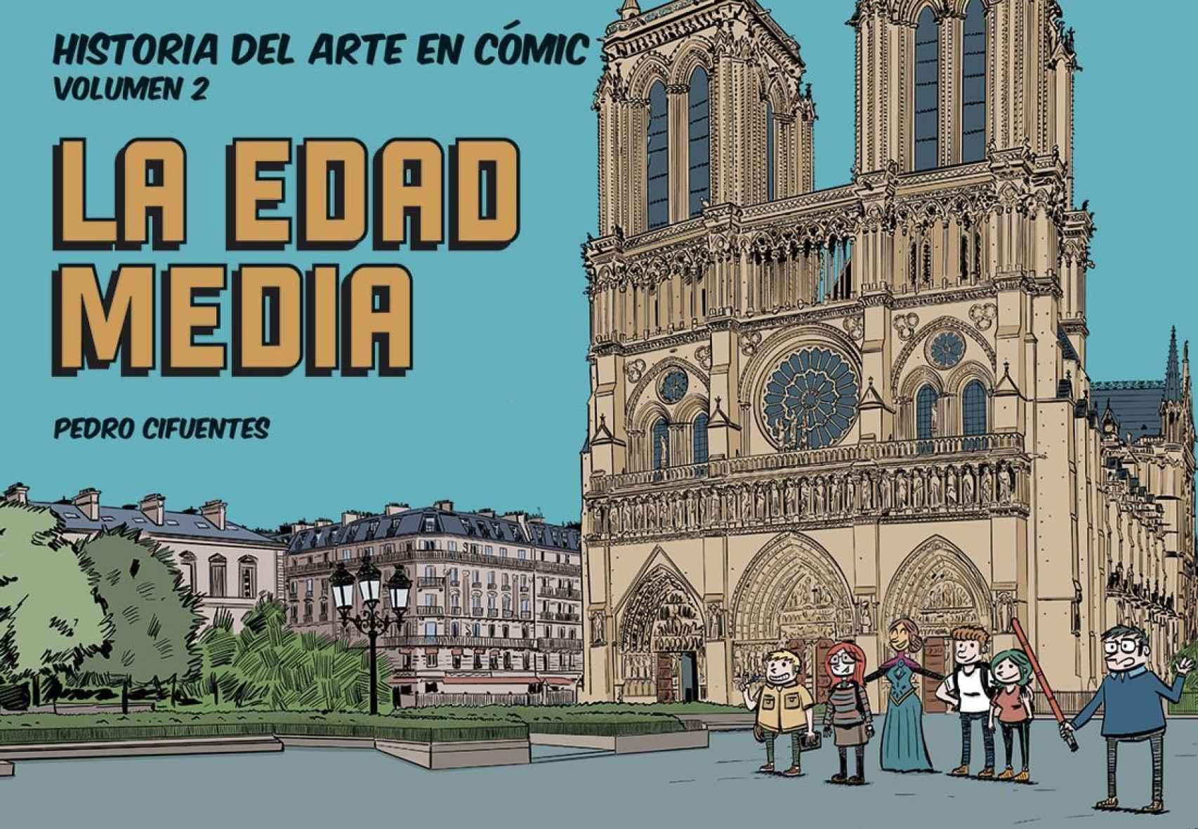 Portada de 'Historia del arte en cómic. La Edad Media'.
