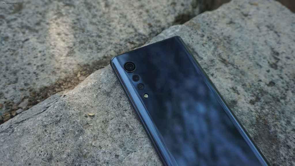 LG Velvet 5G.