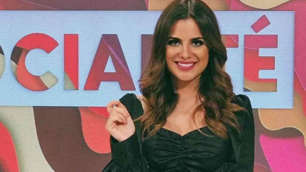 Alexia Rivas en su programa 'Socialité' donde ha sido reportera.