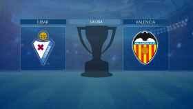 Eibar - Valencia, partido de La Liga