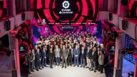 Presentación de la tercera edición de la eLaLiga Santander