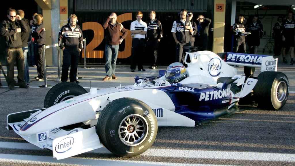 Zanardi montado en un Williams