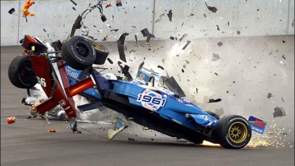 El accidente de Zanardi en 2001