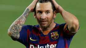 Leo Messi, durante un partido del Barcelona en La Liga