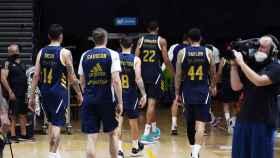 Real Madrid de baloncesto en la fase final de Valencia