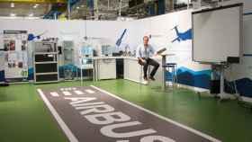 Departamento de innovación de la planta de Tablada en Sevilla de Airbus