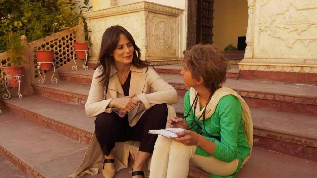 Aitana Sánchez-Gijón en la película