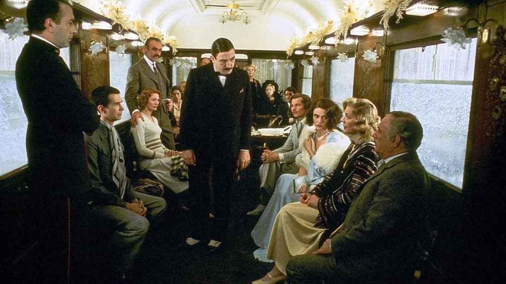 Escena de 'Asesinato en el Orient-Express' (1974).