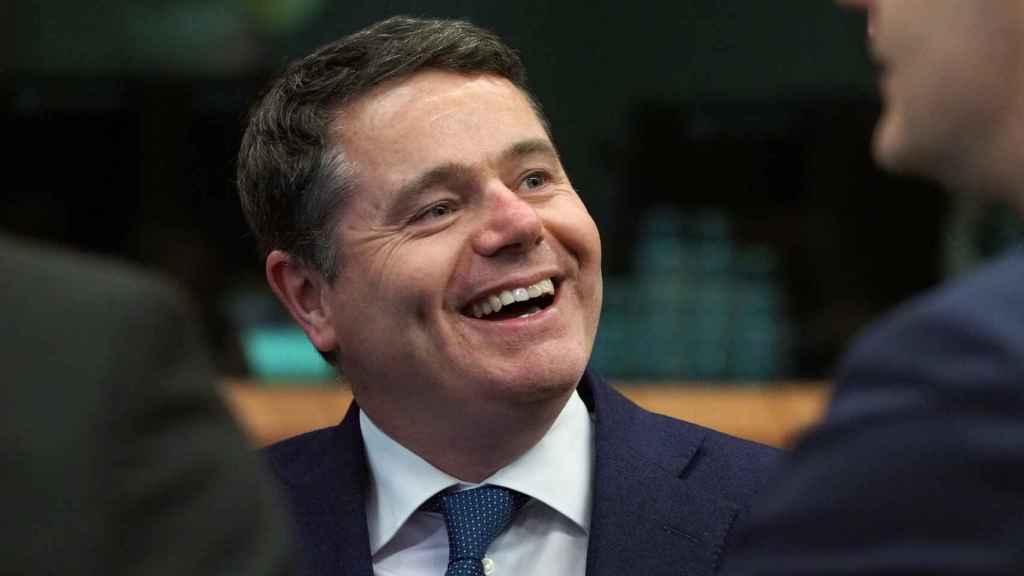 El ministro de Finanzas irlandés, Paschal Donohoe, compite con Calviño por el Eurogrupo