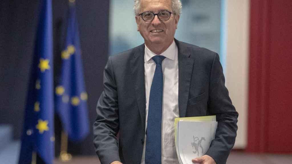 El ministro de Finanzas luxemburgués, Pierre Gramegna, es uno de los veteranos del Eurogrupo