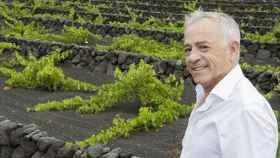 Fermín Otamendi, propietario de Bodegas El Grifo en Lanzarote.