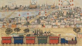Ilustración del Orient-Express.