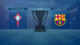Celta de Vigo - FC Barcelona, partido de La Liga