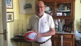 Francisco Igea, vicepresidente de la Junta de Castilla y León, un apasionado del rugby