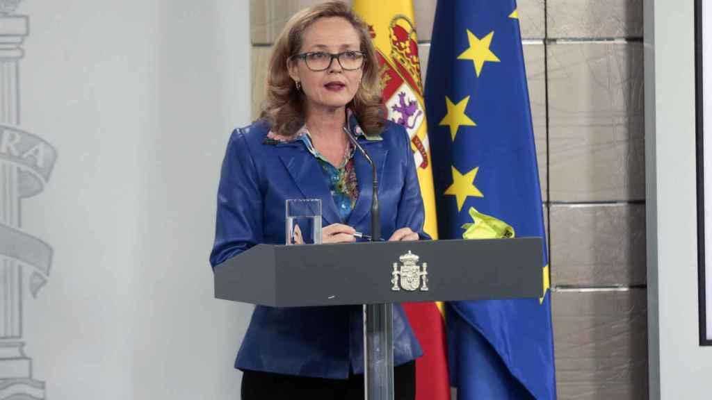 La ministra de Economía, Nadia Calviño, en una imagen de archivo.