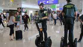 La Guardia Civil era usuaria del Segway en lugares como los aeropuertos.