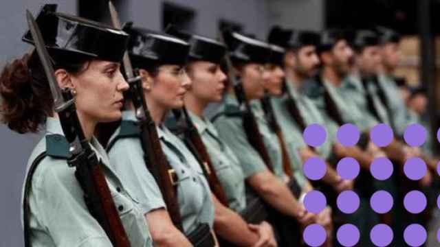 Mujeres guardias civiles.