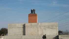 Las botas de Stalin en el Memento Park de Budapest