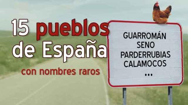 La lista de los nombres de pueblos más graciosos de España