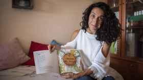 Patricia Ramírez, madre de Gabriel Cruz, en su casa de Almería, este pasado miércoles.