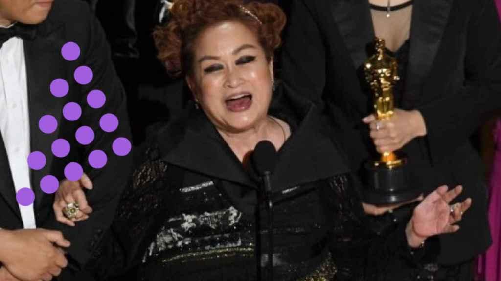 Miky Lee, en la ceremonia de los Oscar.