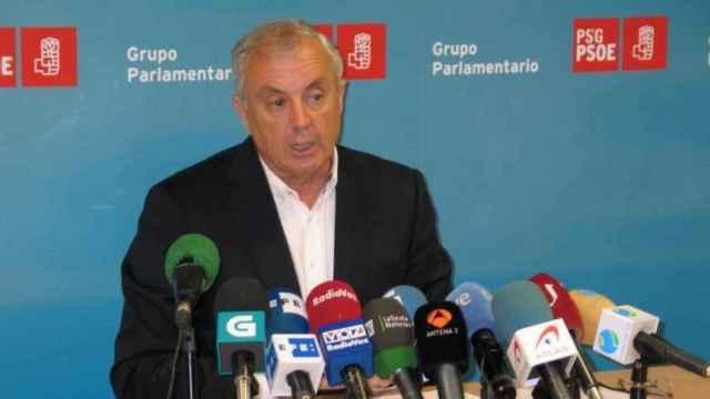 El exsecretario general del PSdeG, Pachi Vázquez.
