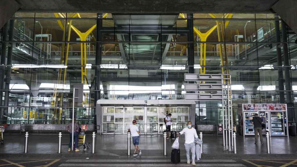 Aeropuerto de Madrid Barajas.
