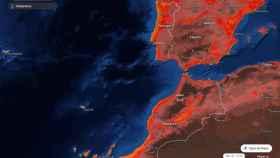 Entre el lunes y el martes gran parte del interior peninsular llegará hasta la marca de 40 ºC. Meteored-tiempo.com