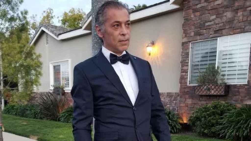 El actor Karlos Granada en una imagen de sus redes sociales.