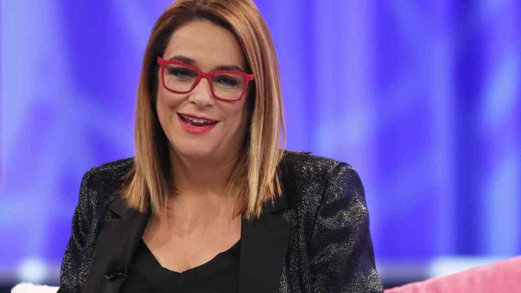Toñi Moreno comenzó a trabajar en televisión con 14 años.