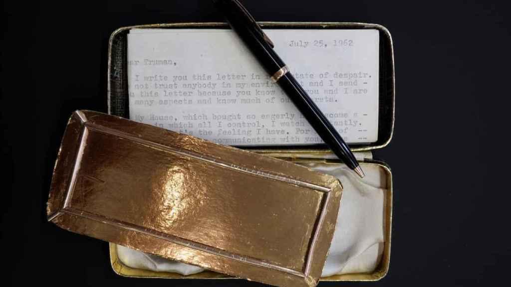 Carta de Marilyn a Truman.