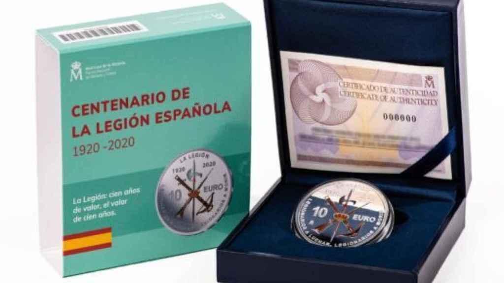 Los legionarios se quedan si la moneda del centenario: se venden ya a 500 € en el mercado negro