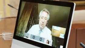 Javier Targhetta (Atlantic Copper) participa en la subcomisión por videoconferencia