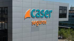 Sede de la aseguradora Caser.