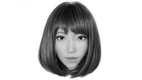 Erica, larobot  actriz protagonista de una película de ciencia ficción