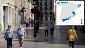El mapa de las provincias a evitar este verano por el contagio del Covid: de Málaga a Girona