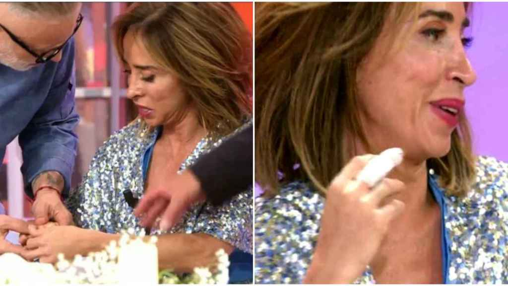 María Patiño, en 'La última cena'.