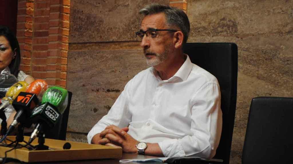 El presidente de la DO y alcalde de Valdepeñas, Jesús Martín.