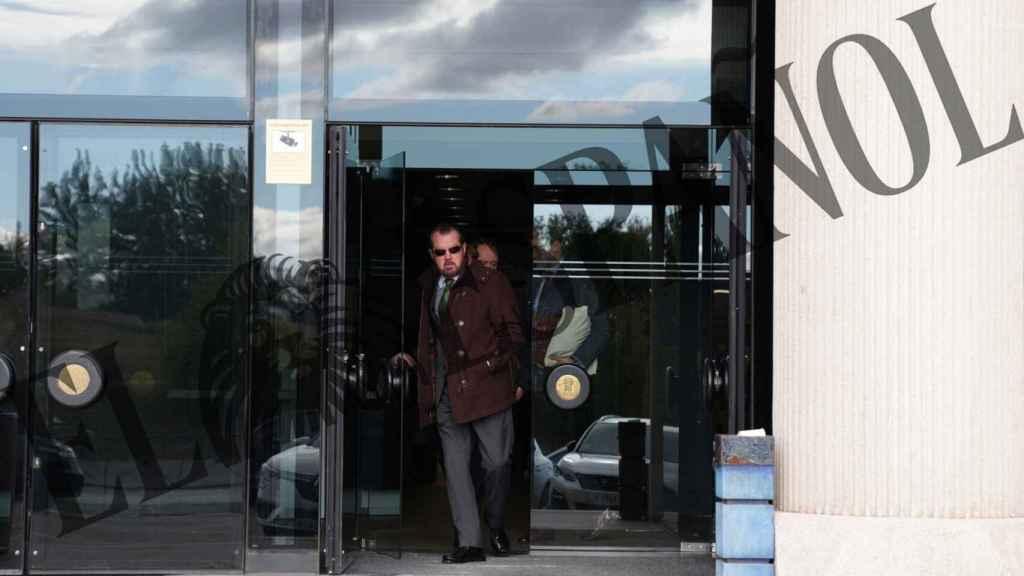 Jesús Ortiz, a la salida de su juicio contra EL ESPAÑOL.