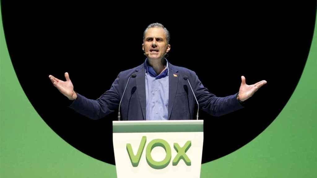 El secretario general de Vox y diputado en el Congreso, Javier Ortega Smith. Efe