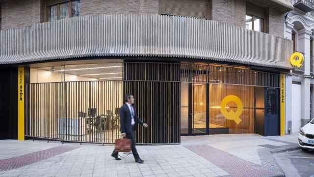 Sucursal de Arquia Banca en Zaragoza.