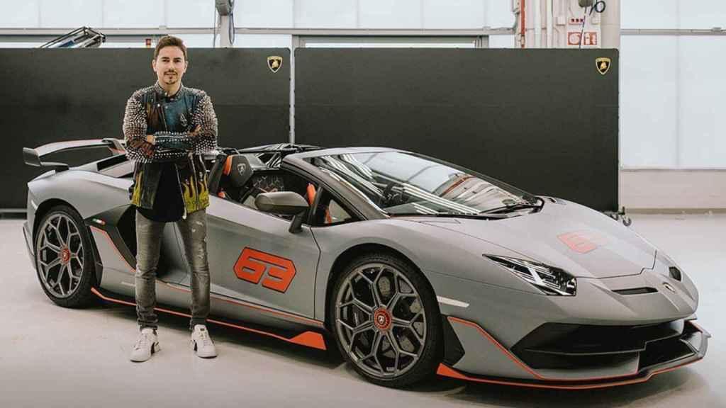 Jorge Lorenzo y su nuevo deportivo