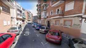 Calle Jabirú de Madrid.