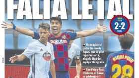 La portada del diario Mundo Deportivo (28/07/2020)