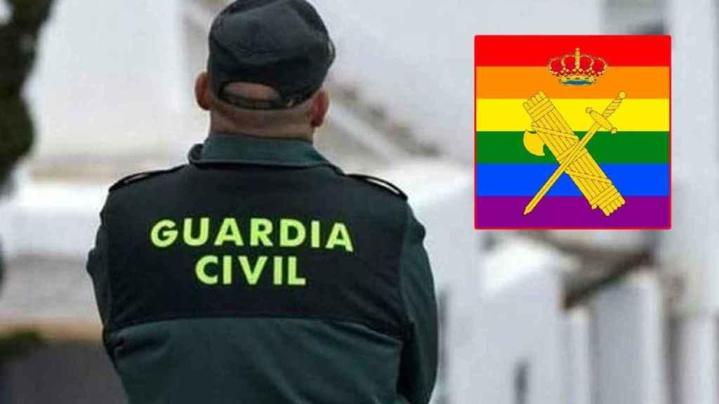 El logo usado por la Guardia Civil.